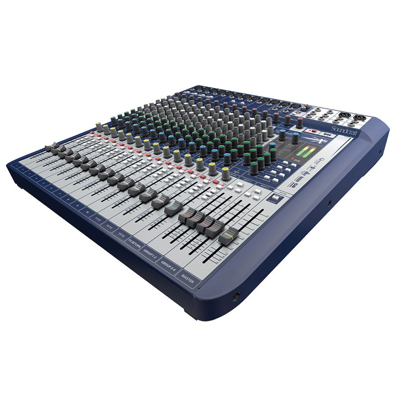Mesa Soundcraft Signature 16 analógica