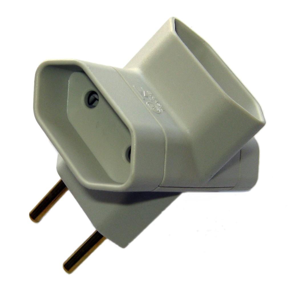 Pino T Mar-Girius 2 pinos (pino adaptador 3 saídas)