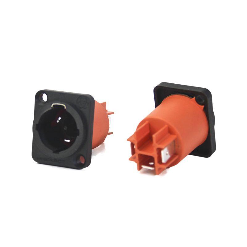 Powercon 16a Smart Pro Line macho de painel à prova de água