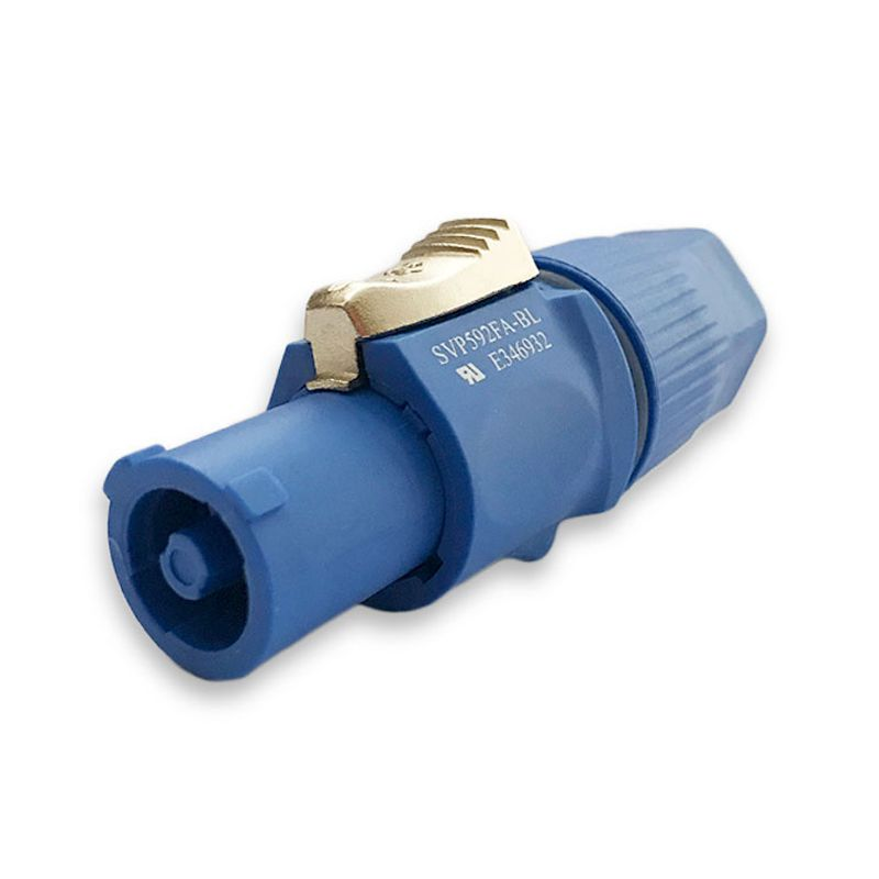 Powercon Smart Pro Line azul de linha
