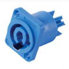 Powercon Turbo azul de painel Q-313