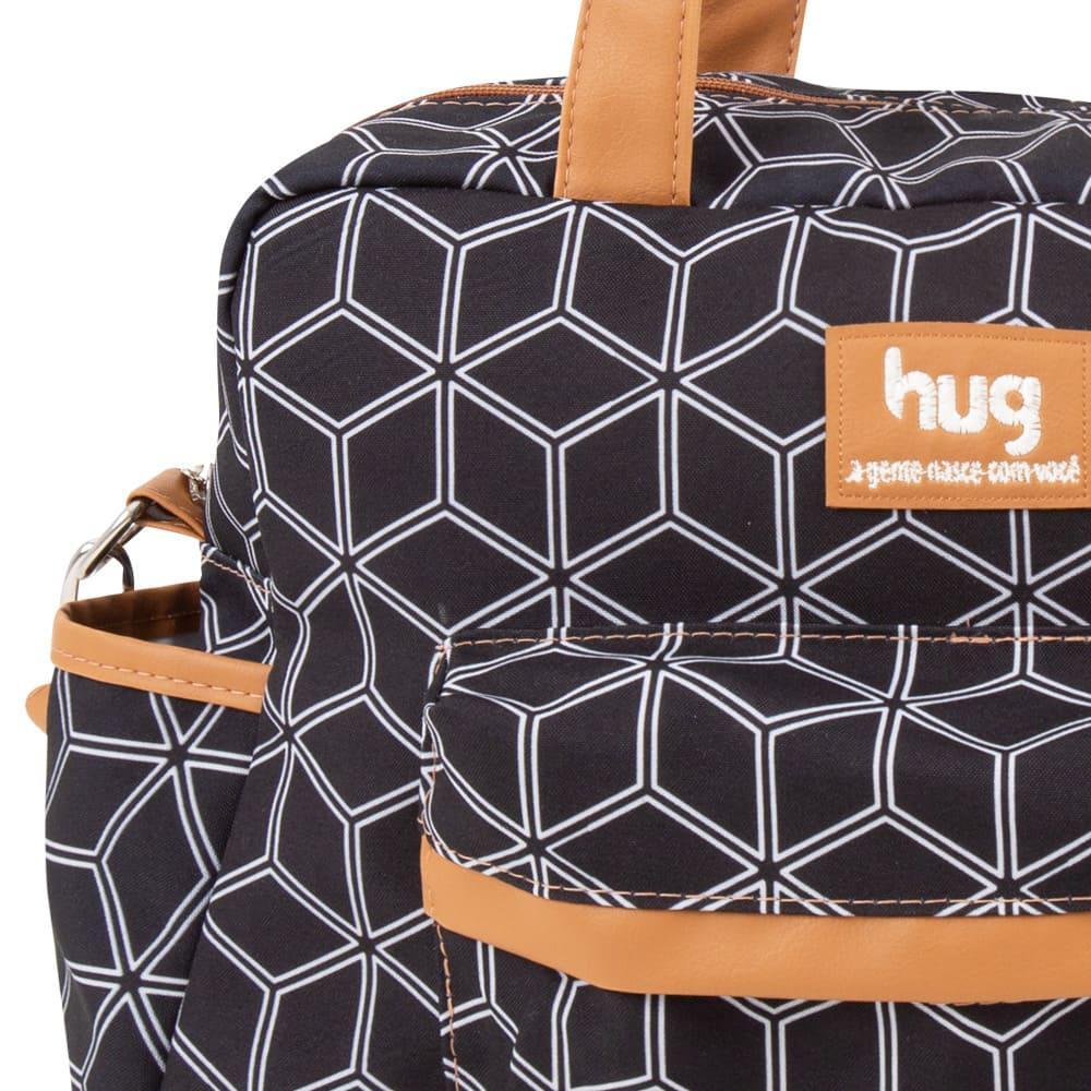 Bolsa Materinidade Urban Grande - Preto - Hug