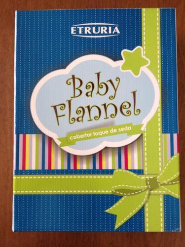 COBERTOR  BABY FLANNEL 90 X 1.10