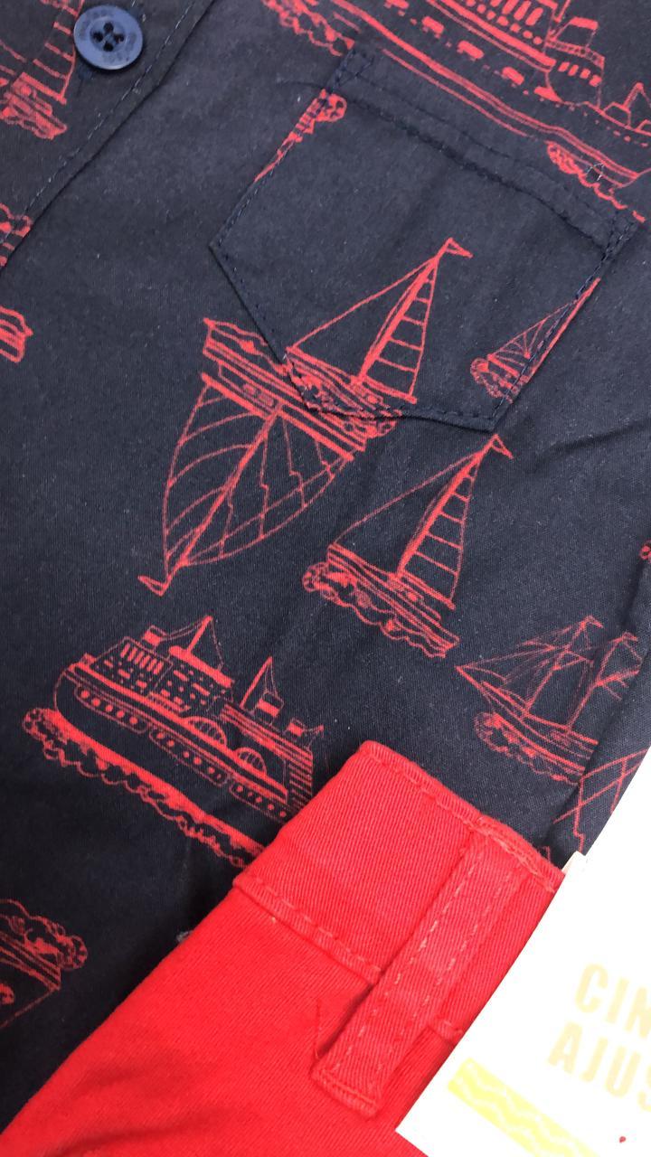 conjunto marisol de camisa com bermuda