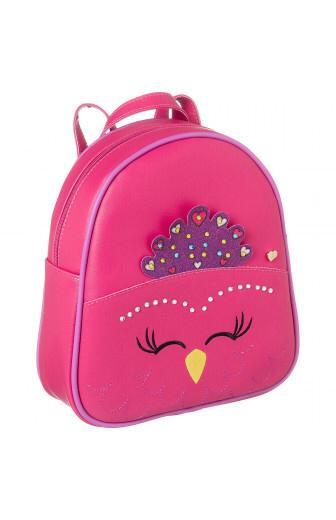 mochila infantil pampili zoo pavoa  pink