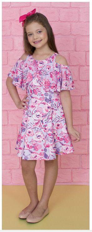 Vestido Infantil de Verão Myra Mahy