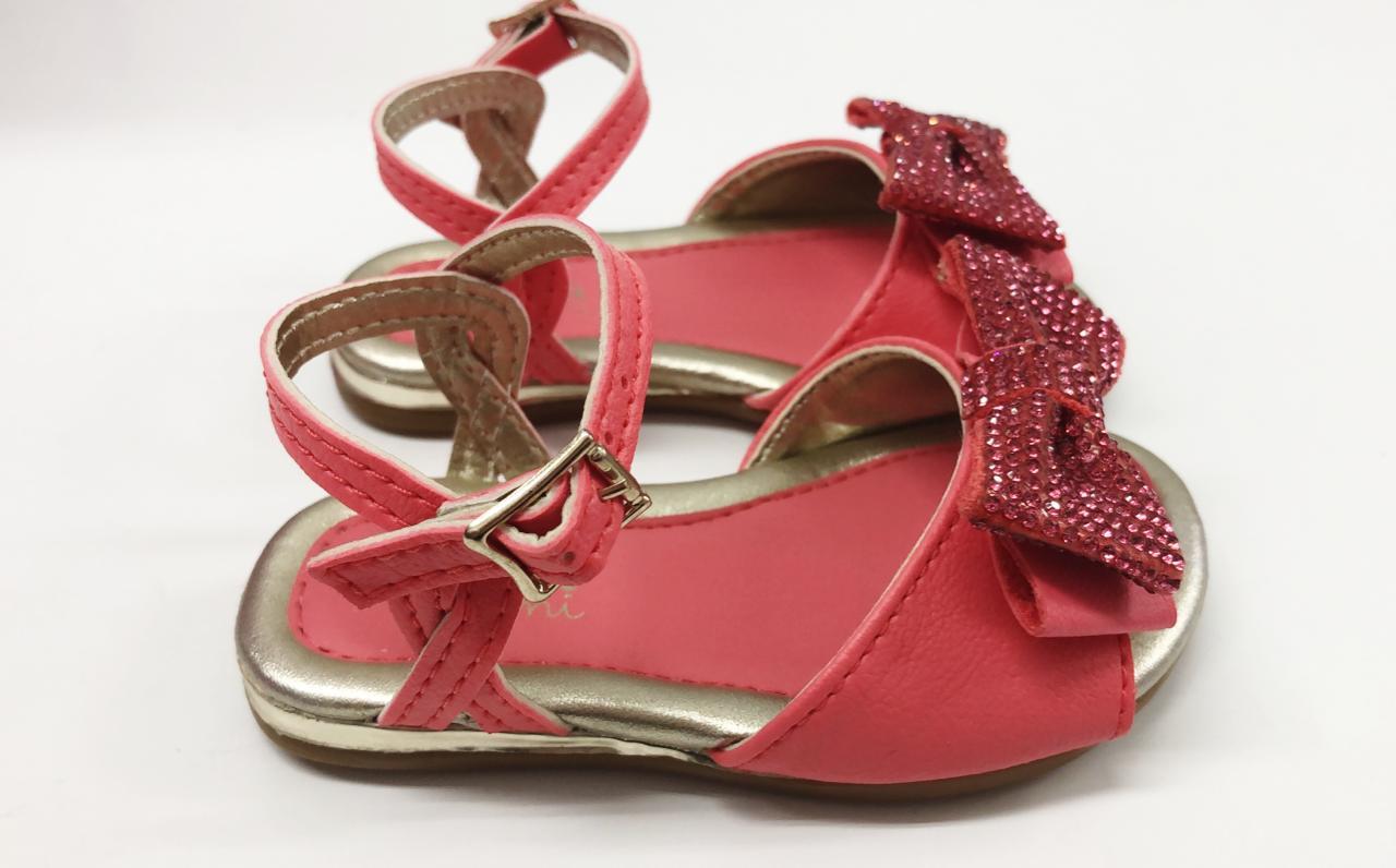 sandália linda  rosa coralina