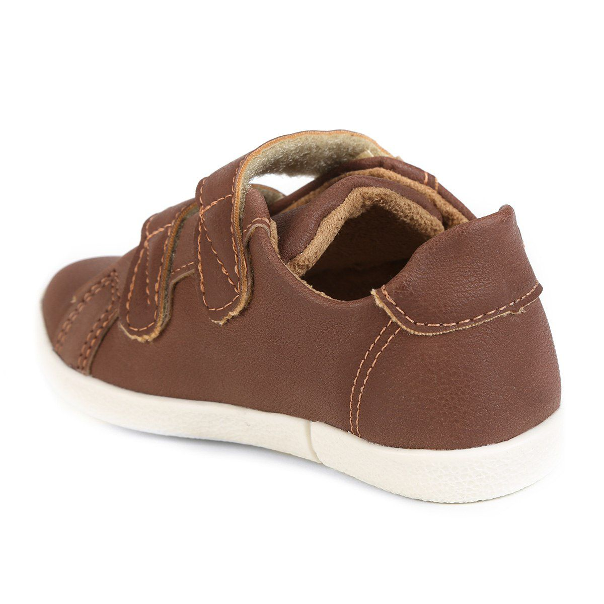 Sapatênis Infantil Baby Flyer Confort Masculino Klin Chocolate