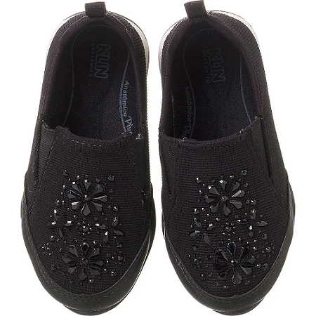 Tênis Infantil Feminino Enjoy Slip On Klin
