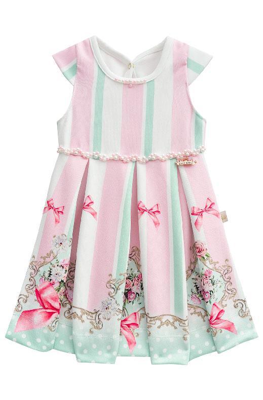 vestido de bebê kiki xodó
