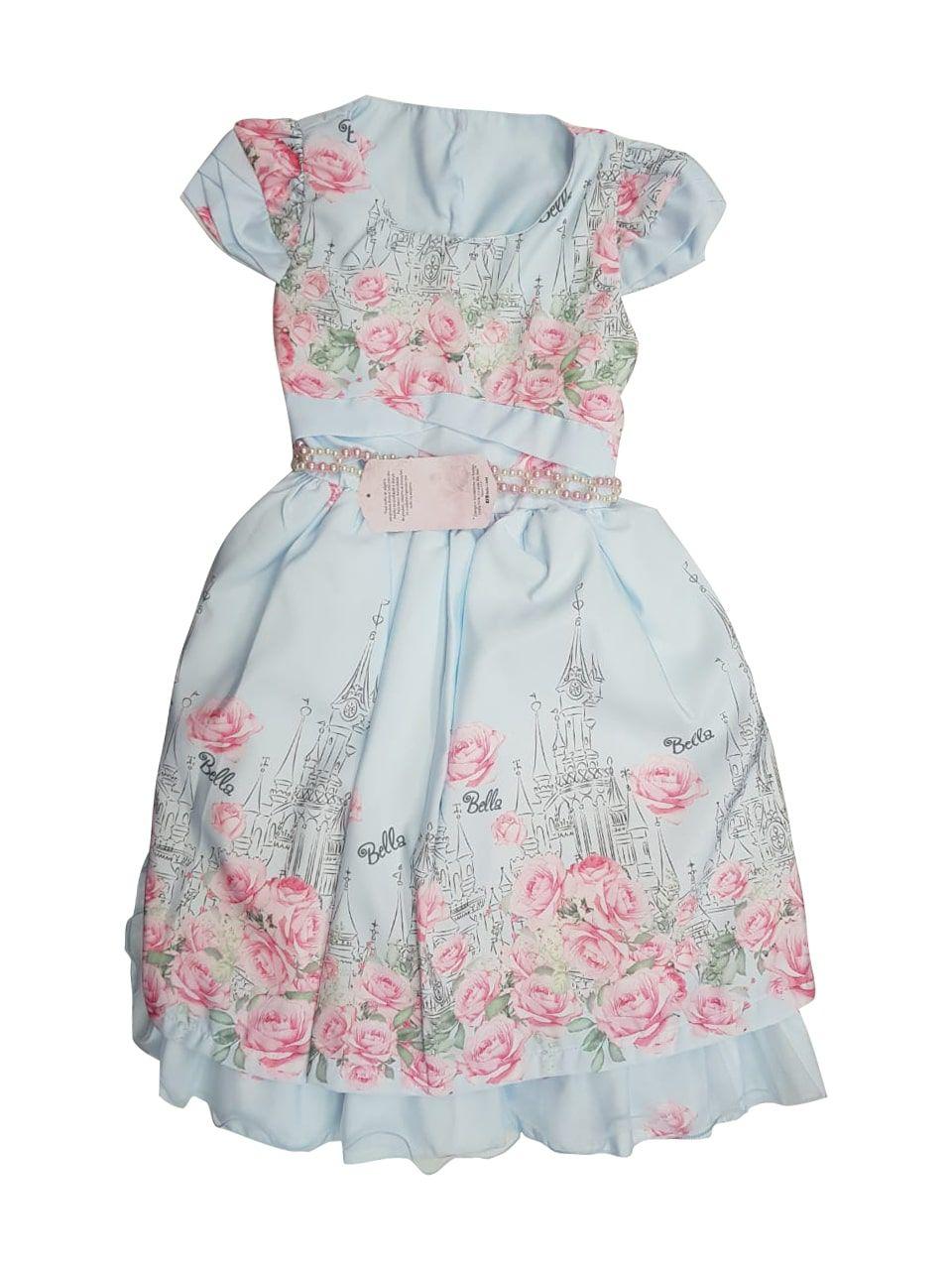 Vestido de Festa Infantil Bella Child