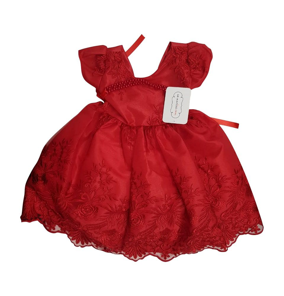 Vestido de Festa Infantil Sapequinha Só Marias
