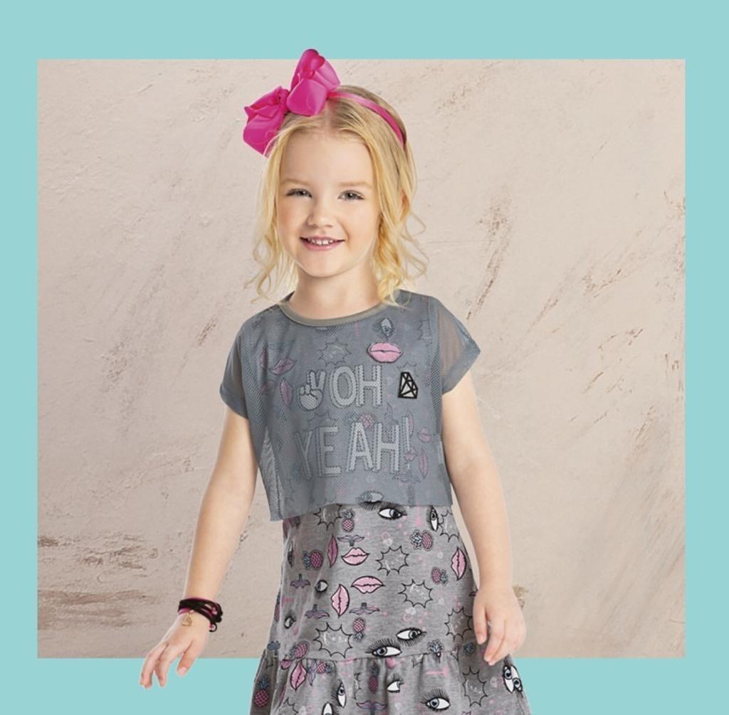vestido infantil feminino angero
