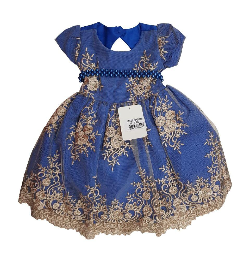 Vestido Infantil Sapequinha Só Marias
