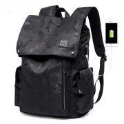 Mochila K.K Antifurto Usb Notebook Camuflada Impermeável Premium