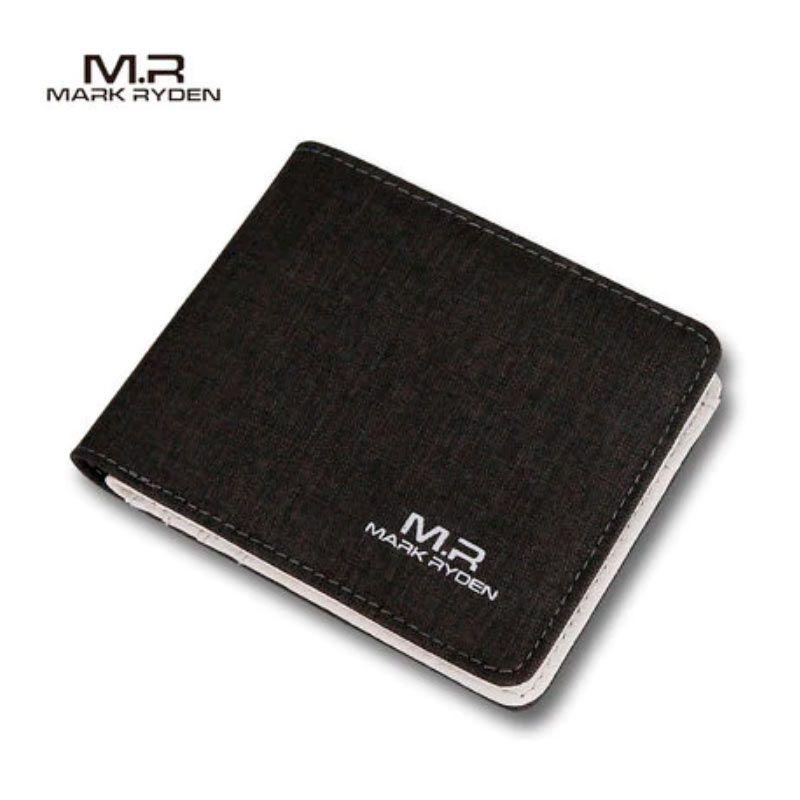 Carteira Mark Ryden Masculina Nylon Couro Premium  - KLIZZ
