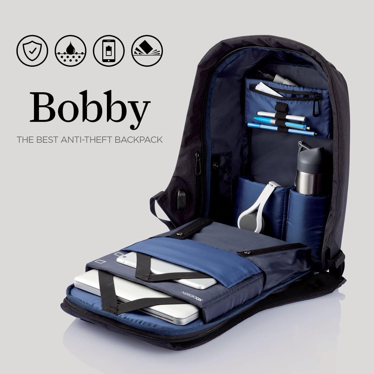 Mochila Antifurto Bobby Usb Notebook Original By Xd Design