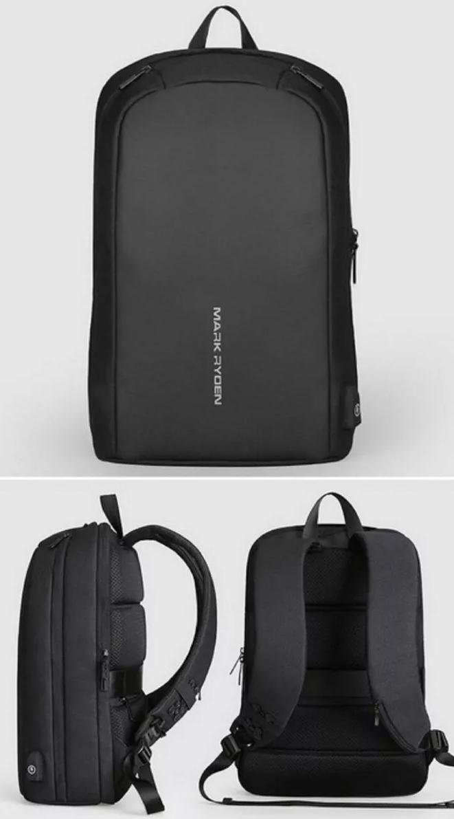 Mochila Antifurto Mark Ryden Notebook 15.6 Porta Usb Premium