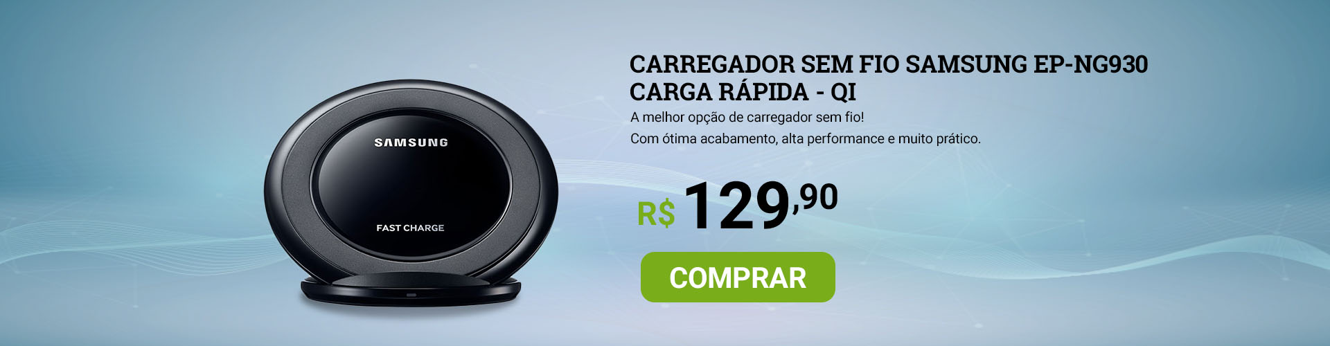 SuperOff - Carregador Sem Fio Samsung