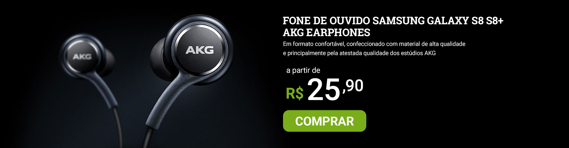 superoff - fone de ouvido akg earphones samsung