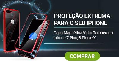 superoff - capa magnética vidro temperado iphone
