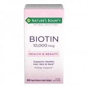 Biotina 10.000 mcg Natures Bounty - 90 Softgels