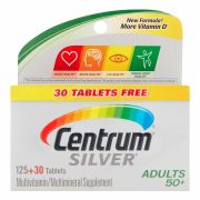 Centrum Silver Adulto +50 Anos Multivitamínico - 155 (125+30) Tabletes