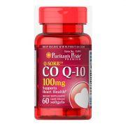 Coenzima CO Q10 100mg Puritans Pride - 60 Softgels
