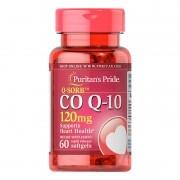 Coenzima CO Q10 120mg Puritans Pride - 60 Softgels