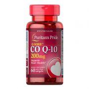 Coenzima CO Q10 200mg Puritans Pride 60 Capsulas - Importada