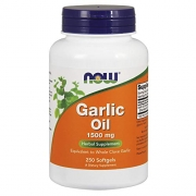 Garlic Oil 1500mg Now Foods - 250 Softgels