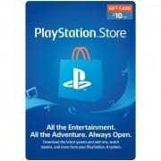 Gift Card de $10 Sony Playstation Store [Código Digital]