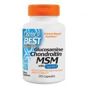 Glucosamina Doctors Best com Optimsm - 120 Cápsulas