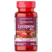 Licopeno 40mg Saúde da Prostata e do Coração com Antioxidantes - 60 Capsulas