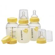 Mamadeira para Leite Materno Bico Fluxo Lento 150ml Medela - 3 Unidades