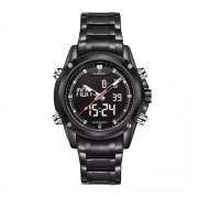 Relógio Masculino Naviforce 9050 Esportivo Casual - Preto