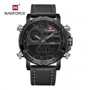 Relógio Masculino Naviforce 9134 BGY Esportivo Elegante - Preto