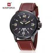 Relógio Masculino Naviforce 9028 - Marron