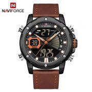 Relógio Masculino Naviforce NF9172 BOLBN Pulseira em Couro – Marrom