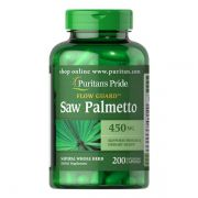 Saw Palmetto 450 mg Puritans Pride - 200 Softgels