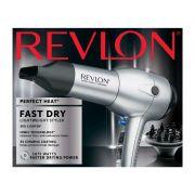 Secador de Cabelo Revlon RV544 Cerâmica Tripla Fast DrY 1875w