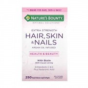 Suplemento Cabelo, Pele e Unhas Natures Bounty -250 Softgels