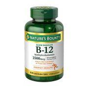 Vitamina B12 Natures Bounty 2500mcg - 300 Cápsulas