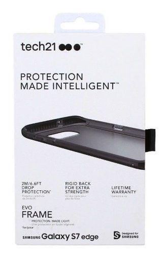 Capa Anti-impacto Tech21 Evo Frame Samsung Galaxy S7 Edge