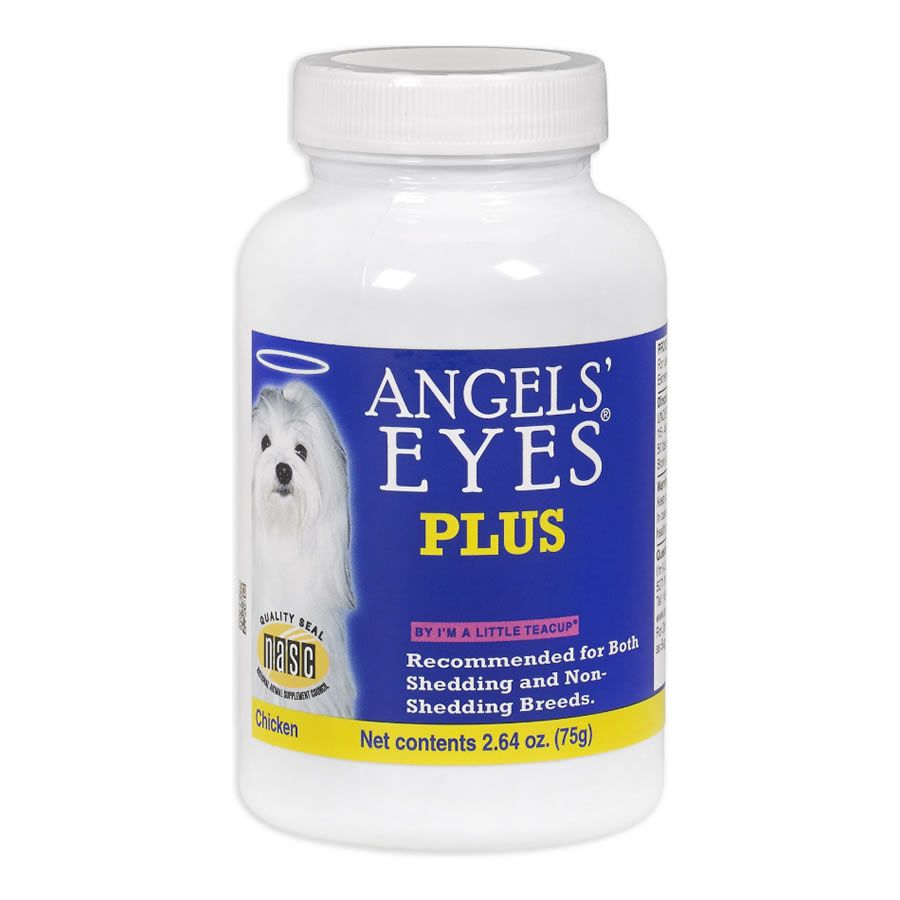 Angels Eyes Natural Plus Cães Elimina Mancha de Lágrimas Sabor Frango -75g