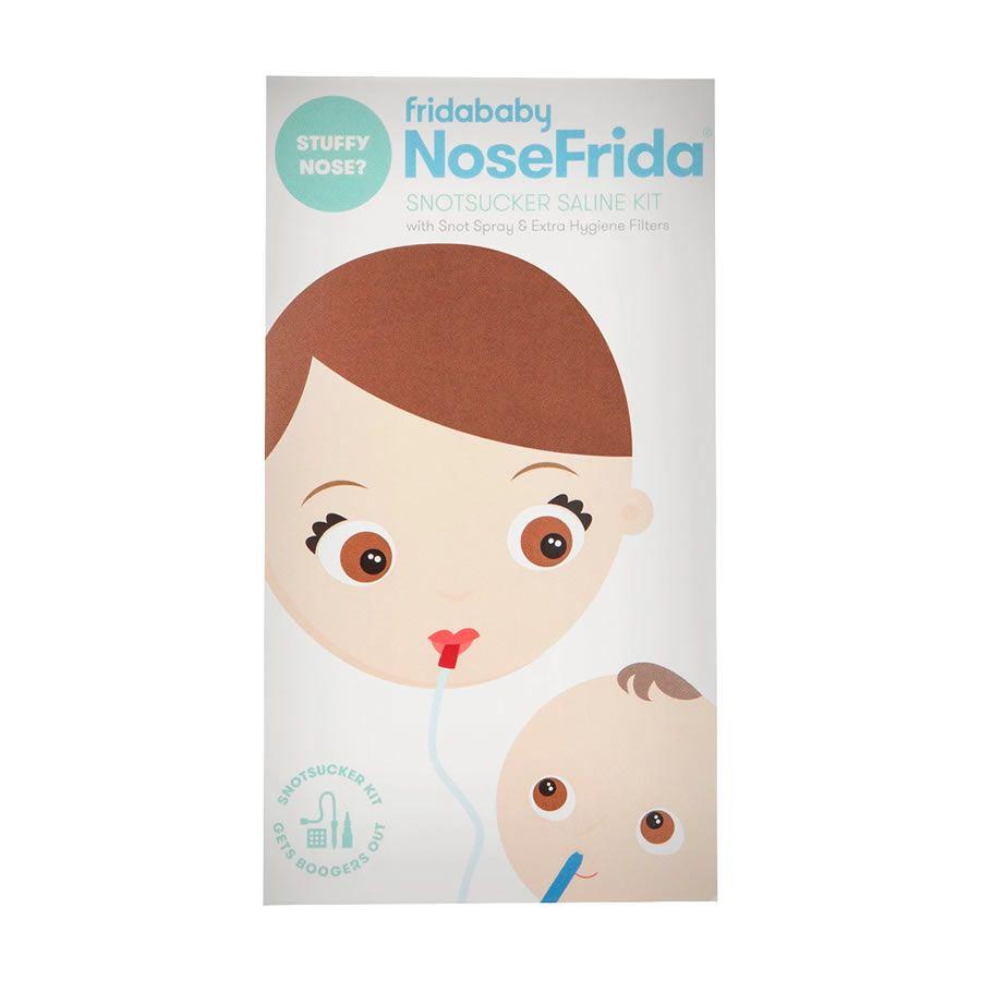 Aspirador Nasal Nosefrida Kit com Solução e Filtro