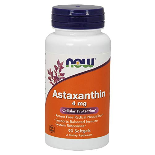 Astaxanthin 4mg Now Foods - 90 Softgels