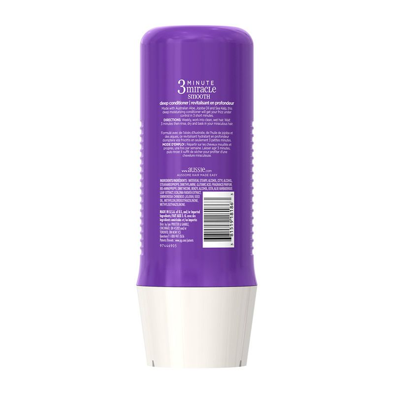 Aussie Tratamento 3 Minute Miracle Smooth - 236ml