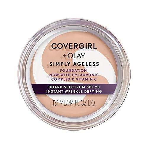 Base Anti-rugas Simply Ageless Covergirl & Olay 13 ml - Creamy Beige