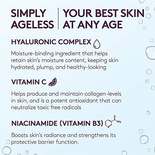 Base Líquida Anti-rugas Simply Ageless 3-in-1 Hialurônico e Vitamina C Covergirl & Olay - Classic Tan